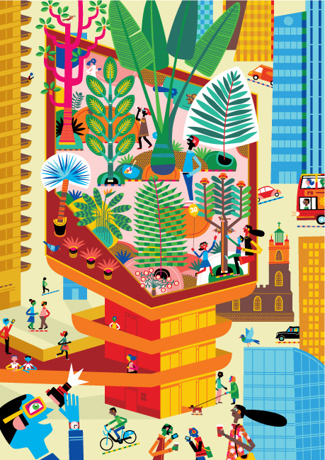 The Serco Prize for Illustration 2012 Secret London Exhibition